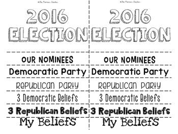 2016 USA Election Flip Book {{BLANK}}