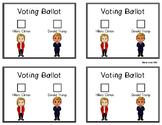 2016 Voting Ballot - Clinton/Trump
