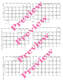 2016 calendar July to December