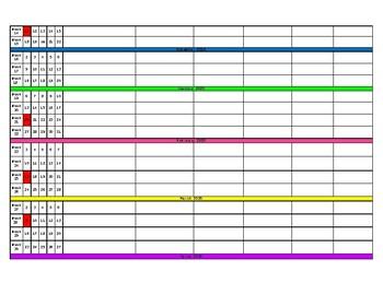 2018-19 Long Range Plan Template