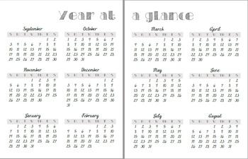 2017-18 School Year Plan Book