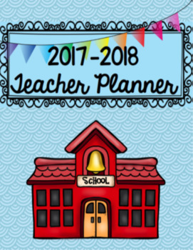 2017-18 Teacher Planner