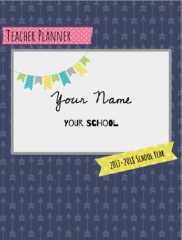 2017/18 Teacher Planner AND Substitute teacher Binder!