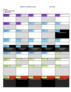2017-2018 A/B Planning Calendar