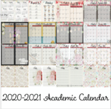 ** NEWLY UPDATED 2019-2020 Academic Calendar