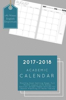 2017-2018 Academic Planner