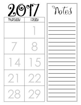 2017-2018 Agenda