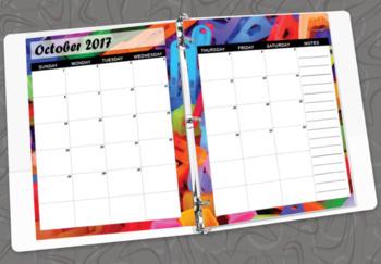 2017 2018 Art Education Planner for K-12th Grades