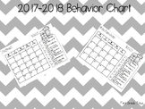 2017-2018 Behavior Charts