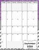 COLOR/CHEVRON Teacher Plan Book
