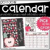2017-2018 Calendar - Apples