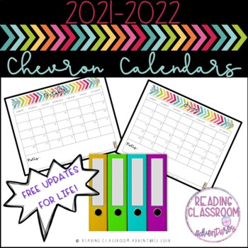 Calendars: Chevron