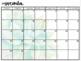 Calendar - Blank & Succulent Themed