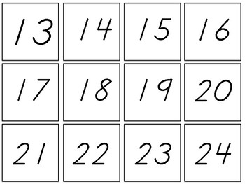 2017-2018 Calendar Flip Cards