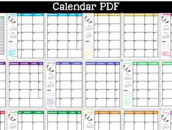 2017-2018 Calendar PDF