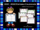 2017-2018 Calendar Templates