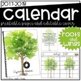 2017-2018 Calendar - Trees
