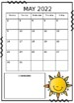 2017-2018 Calendars EDITABLE