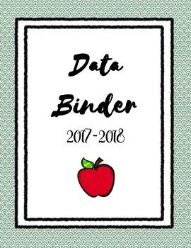 2017-2018 Classroom Data Binder (SPED)