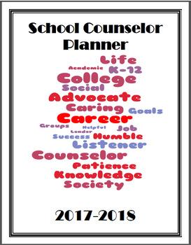 School Counselor Planner 2017-2018
