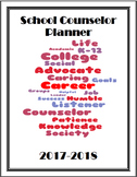 School Counselor Planner 2017-2018