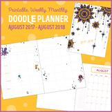 2017-2018 - Doodle Planner for Teachers