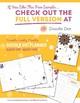 2017-2018 Doodle Teacher's Weekly Planner - Free Sample