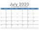 2018-2019 Editable Calendar