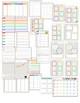 2017-2018 Editable Chevron Teacher Planner/Binder