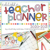 2017-2018 Editable Teacher Planner