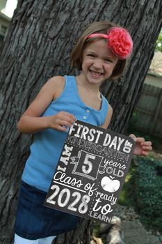 2017-2018 First Day of School Photo Props