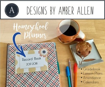 Home School Planner and 2017-2018 Record Book (Feelin' Good)