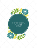 2017-2018 Homeschool Planner Cover