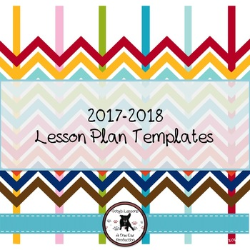 2017-2018 Lesson Plan Template