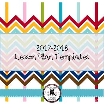 2018-2019 Lesson Plan Template