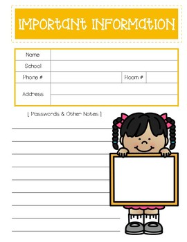 2017-2018 Lesson Planning Pages