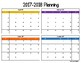 2017-2018 Long-term Planning Calendar