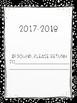 2017-2018 Monthly Calendar