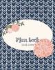 NAVY/BLUSH Teacher Plan Book