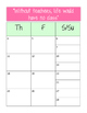 2016-2017 Pink Teacher Planner