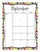 2017-2018 School Calendar (Fall)