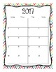 2017-2018 School Calendar (Fun Collection)