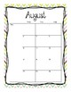 2017-2018 School Calendar (Fun Pineapples)