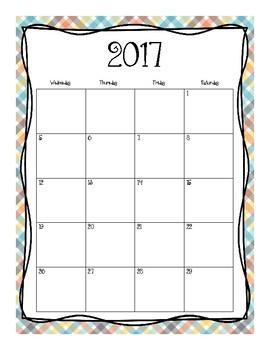 2017-2018 School Calendar (Train Boys)