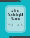2017-2018 School Psychologist Planner