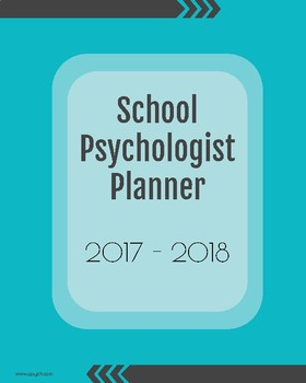 2017-2018 School Psychologist Planner