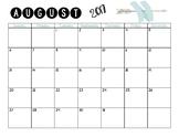 2017-2018 School Year Calendar (Aztec)