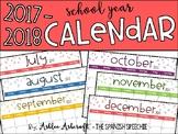 Calendar 2017-2018 School Year - English Version