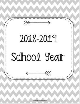 2018-2019 School Year Calendar. Secretary Calendar