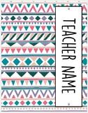 2017-2018 HS Teacher Binder--geometric